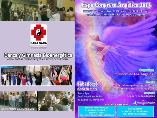 danza bioenergetica con sarasara sendero de los Angeles expoferia 2013